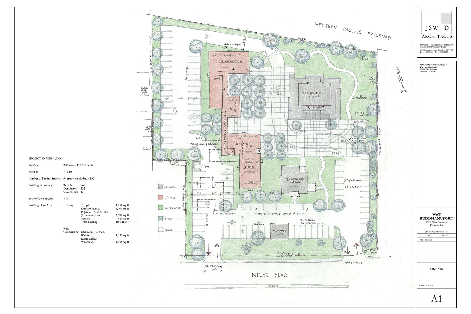 Phase 2 Construction Plan Fundraising Buddhanusorn – Site Drawings For Site Plan